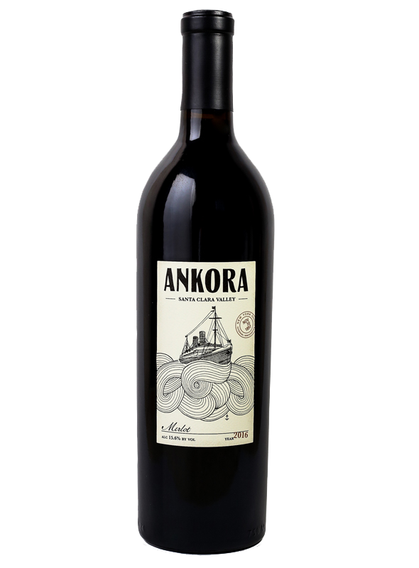 Ankora Merlot - Dorcich Family Vineyards