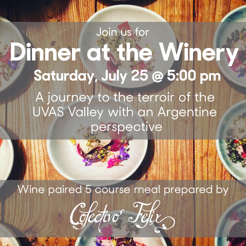 Dinner at the Winery - July 25_Colectivo Felix 2